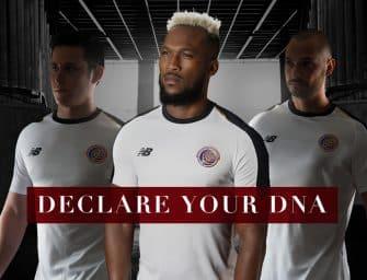 Les maillots du Costa Rica et les chaussures des 23 joueurs pour la Coupe du monde 2018
