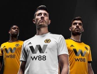 Les Wolves et adidas lancent les maillots 2018-2019