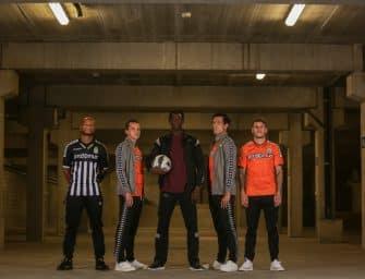 Kappa et Charleroi dévoilent les nouveaux maillots pour la saison 2018-2019