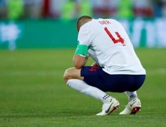 L'équipe d'Angleterre mise à l'amende par la Fifa à cause de chaussettes non autorisées