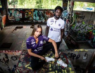 Joma et le Toulouse FC présentent les nouveaux maillots pour la saison 2018-2019