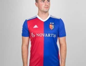 Les nouveaux maillots 2018-2019 du FC Bâle par adidas