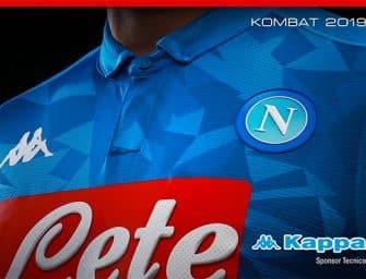 Kappa présente les maillots 2018-2019 du Napoli