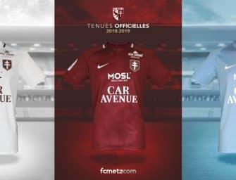 Les nouveaux maillots 2018-2019 du FC Metz par Nike