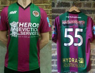 Les maillots d'un obscur club amateur anglais piratés par un fan adverse