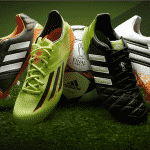 Les chaussures des 1/4 de finale de la Ligue des Champions
