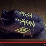 Le spot vidéo de la nouvelle Umbro UX-1