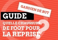 Image de l'article Guide : les chaussures de foot pour un gardien de but