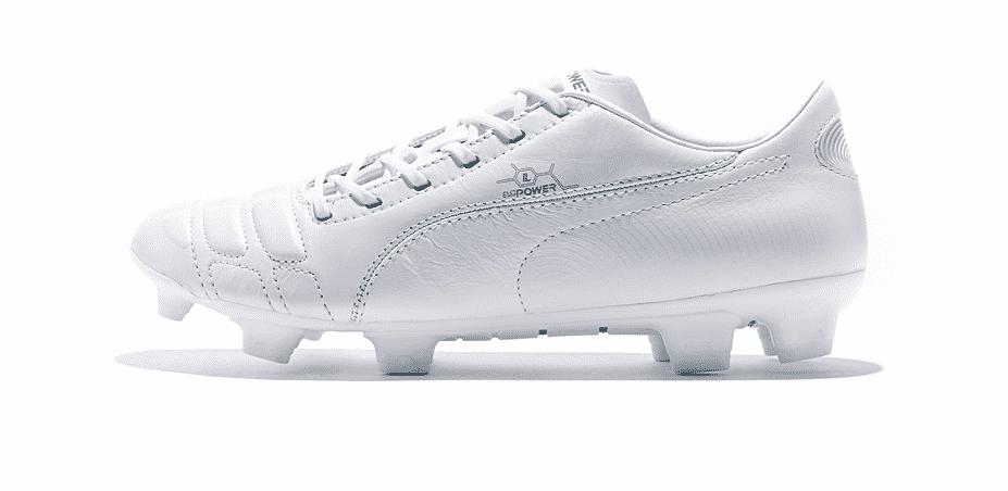 Découvrez les nouvelles Puma Evo Power blanche métallique, dévoilé à l'aube de la saison 2014-2015
