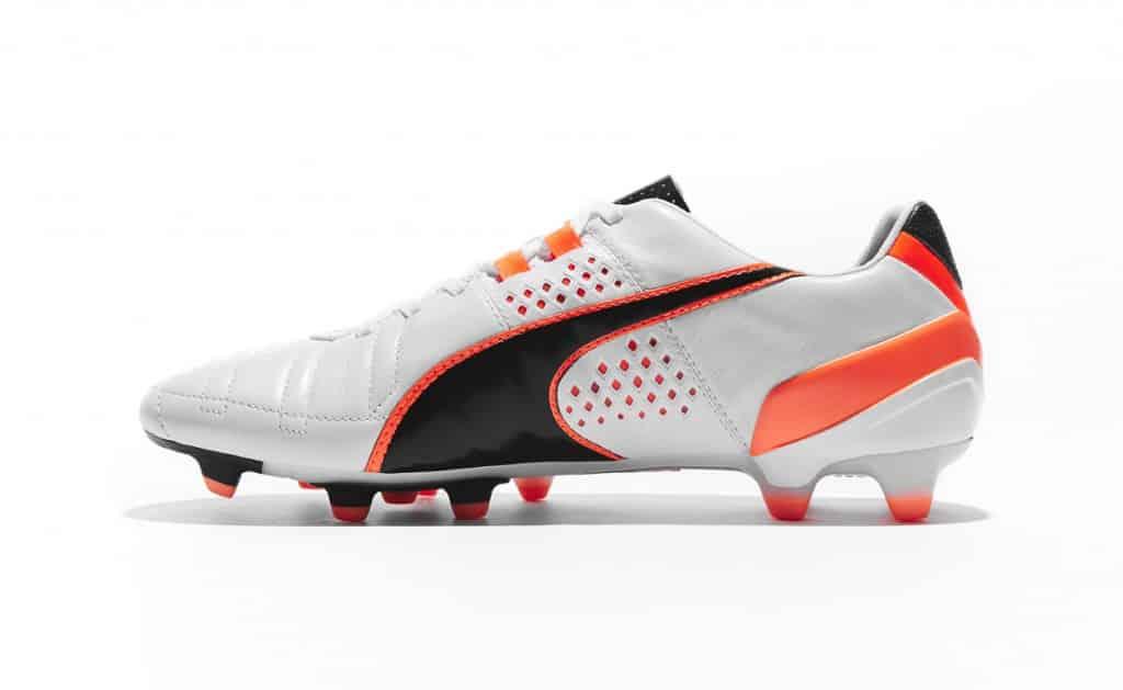 chaussure-puma-king-II-Blanc-Noir-Orange-2