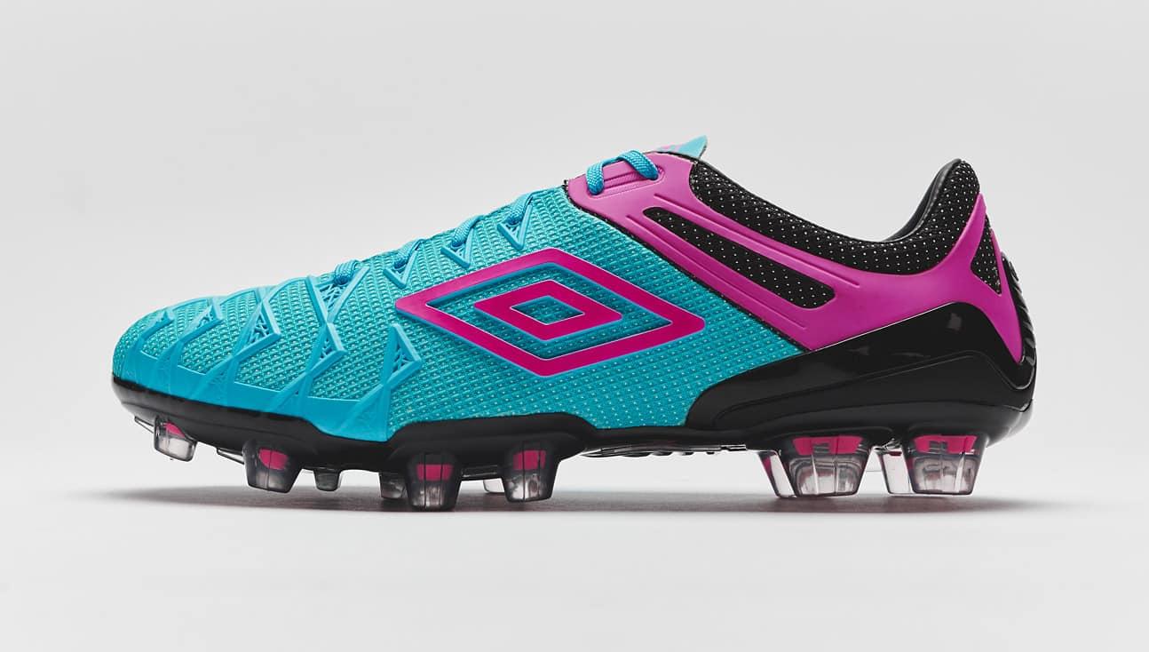 chaussure-football-umbro-ux1-bleu-rose