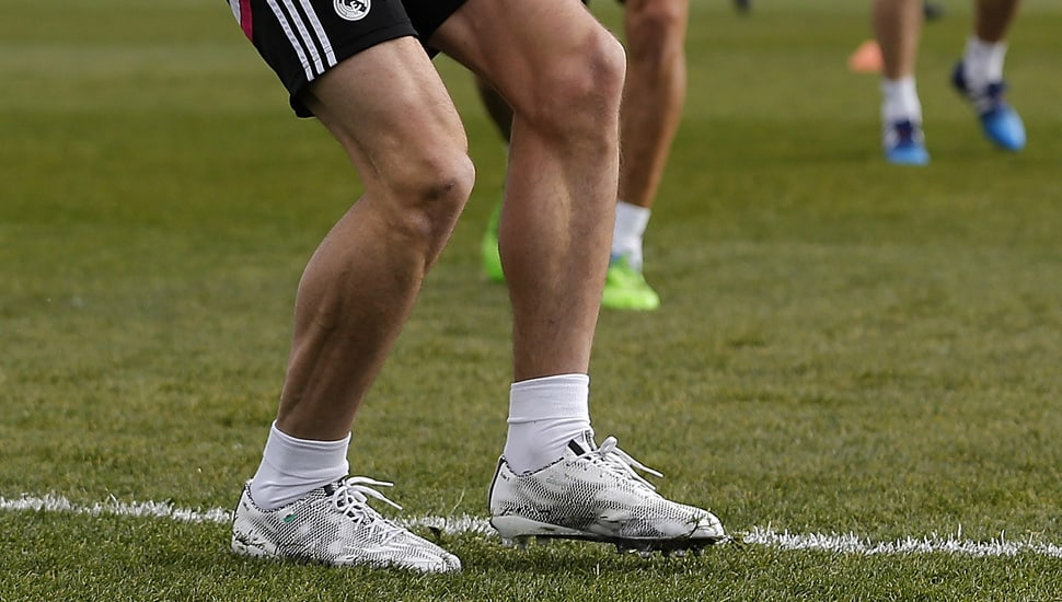 gareth-bale-chaussure-football-adidas-F50-blanc-noir
