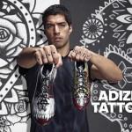 adidas lance une édition limitée adizero F50 Tattoo Pack