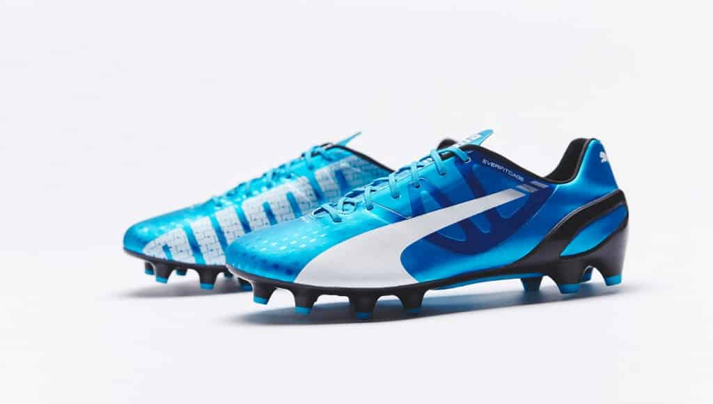 chaussure-football-puma-evospeed--1-3-bleu-hawaiian-ocean