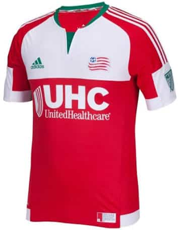 Maillot MLS 2015 - New England Revolution