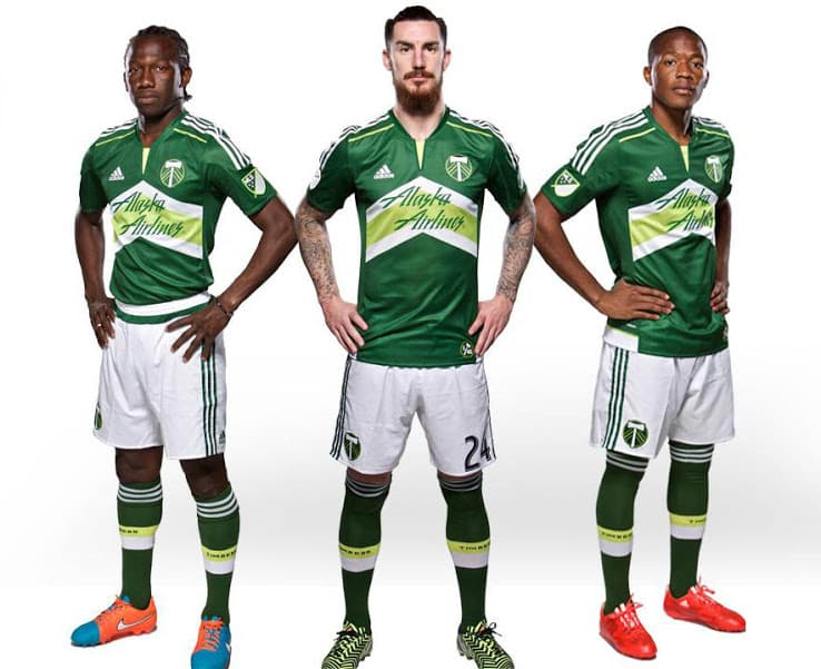 Maillot MLS 2015 - Portland Timbers