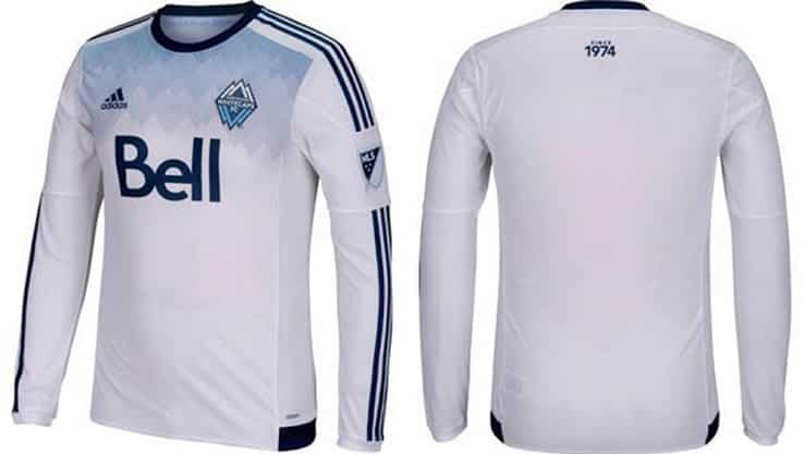 Maillot MLS 2015 - Vancouver Whitecaps
