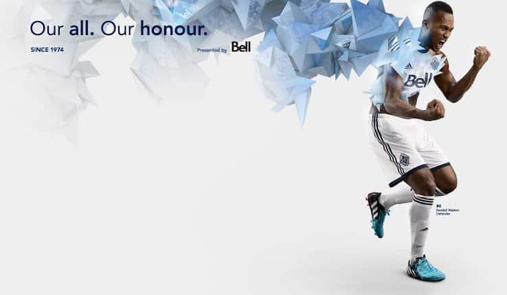 Maillot MLS 2015 - Vancouver Whitecaps