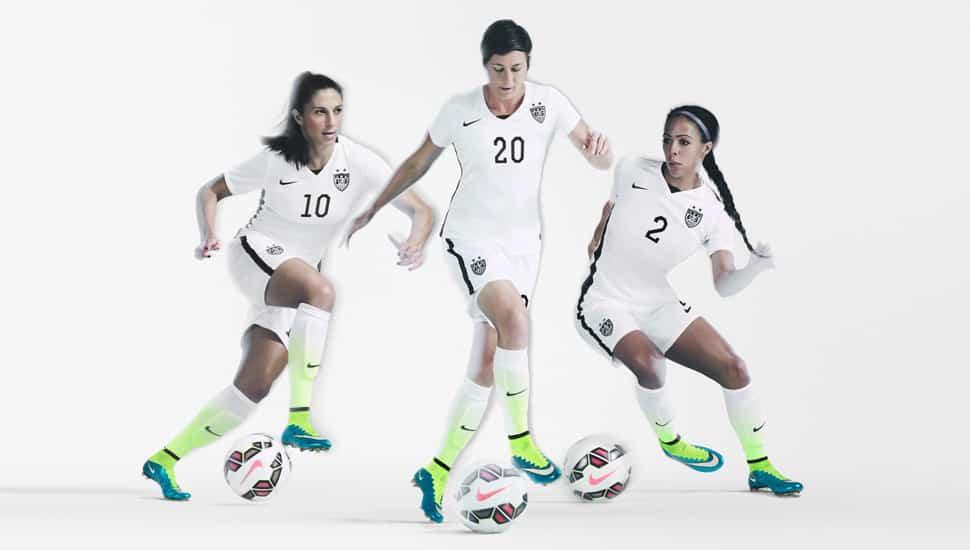 Nike lance un pack femme pour la coupe du monde 2015 - Football feminin coupe du monde 2015 ...