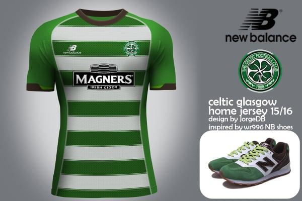 Après Liverpool, Porto, Seville et Stoke City, New Balance va devenir l'équipementier officiel du Celtic de Glasgow à partir de la saison 2015-2016.