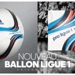 adidas présente le ballon 2015-2016 de la Ligue 1