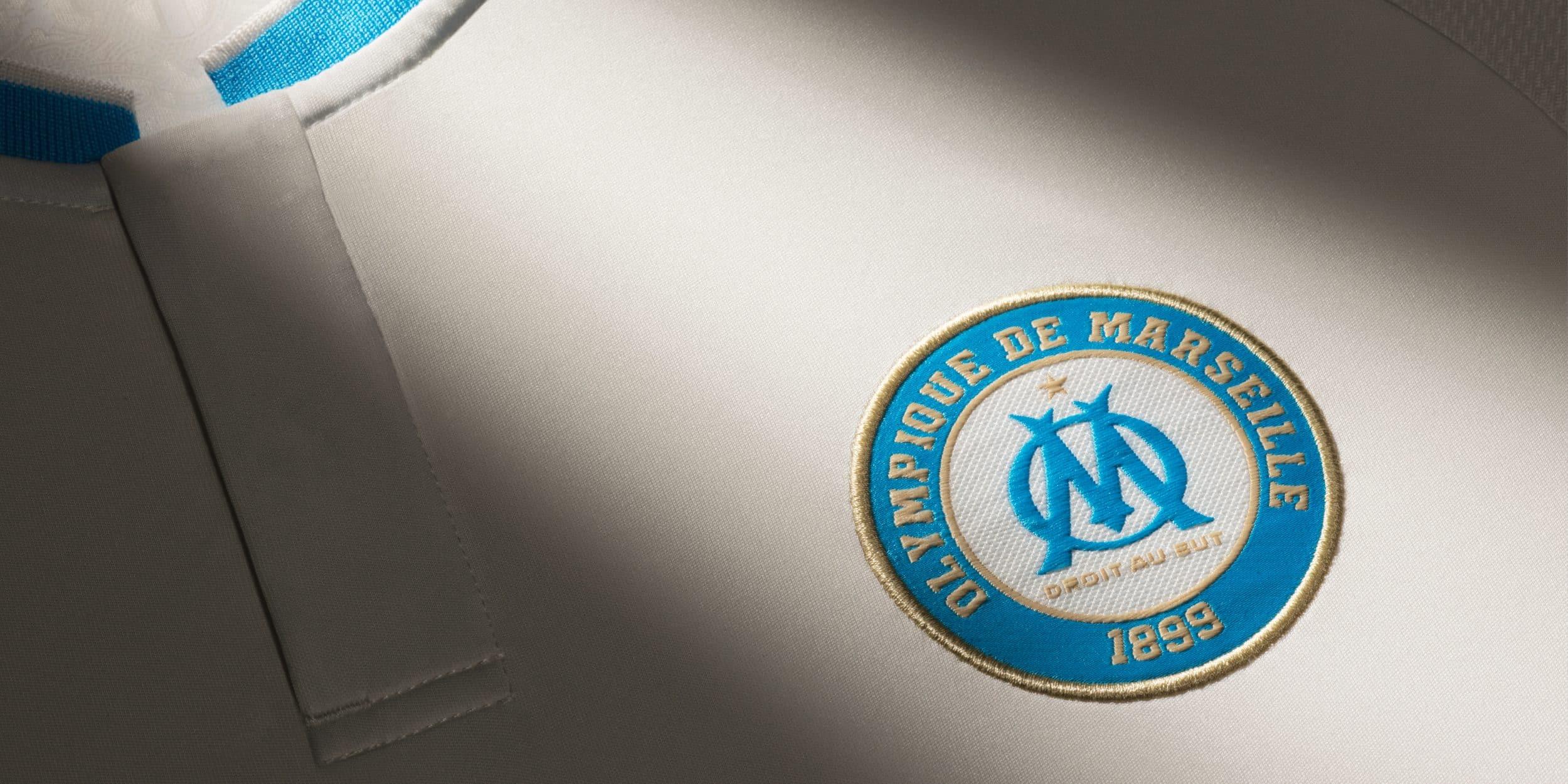 Adidas d voile les maillots 2015 2016 de l 39 olympique de - Logo de l olympique de marseille ...
