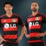 adidas dévoile les maillots 2015-2016 du Bayer Leverkusen