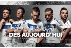 Image de l'article adidas présente les maillots 2015-2016 de l'Olympique Lyonnais