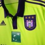 adidas dévoile les maillots 2015-2016 d'Anderlecht