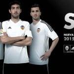 Les maillots 2015-2016 du FC Valence par adidas