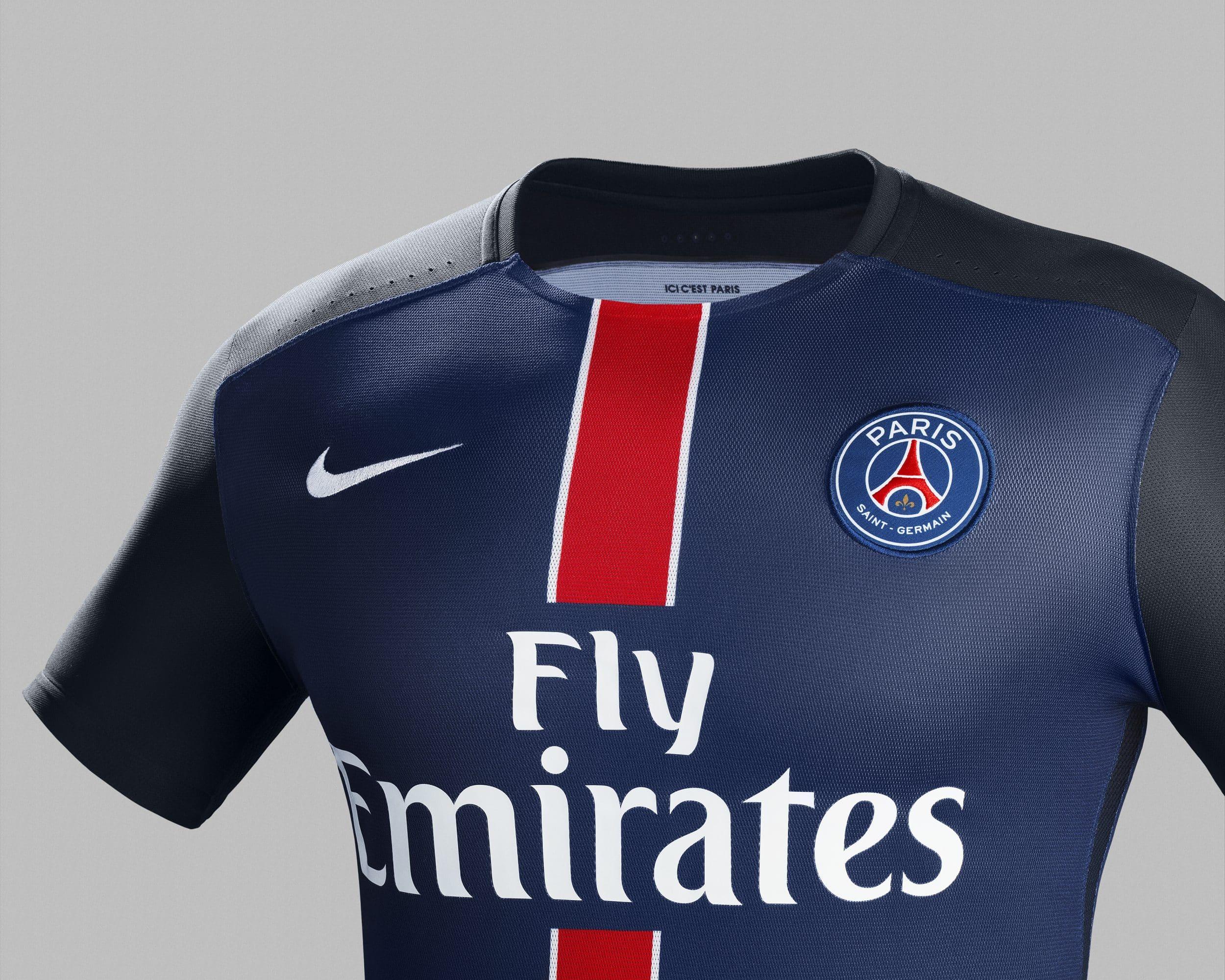 A quelques jours de la fin de la saison, Nike vient de présenter le nouveau maillot domicile du Paris Saint-Germain pur la saison 2015-2016.