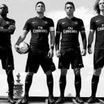 Nike dévoile les maillots 2015-2016 du Paris Saint-Germain