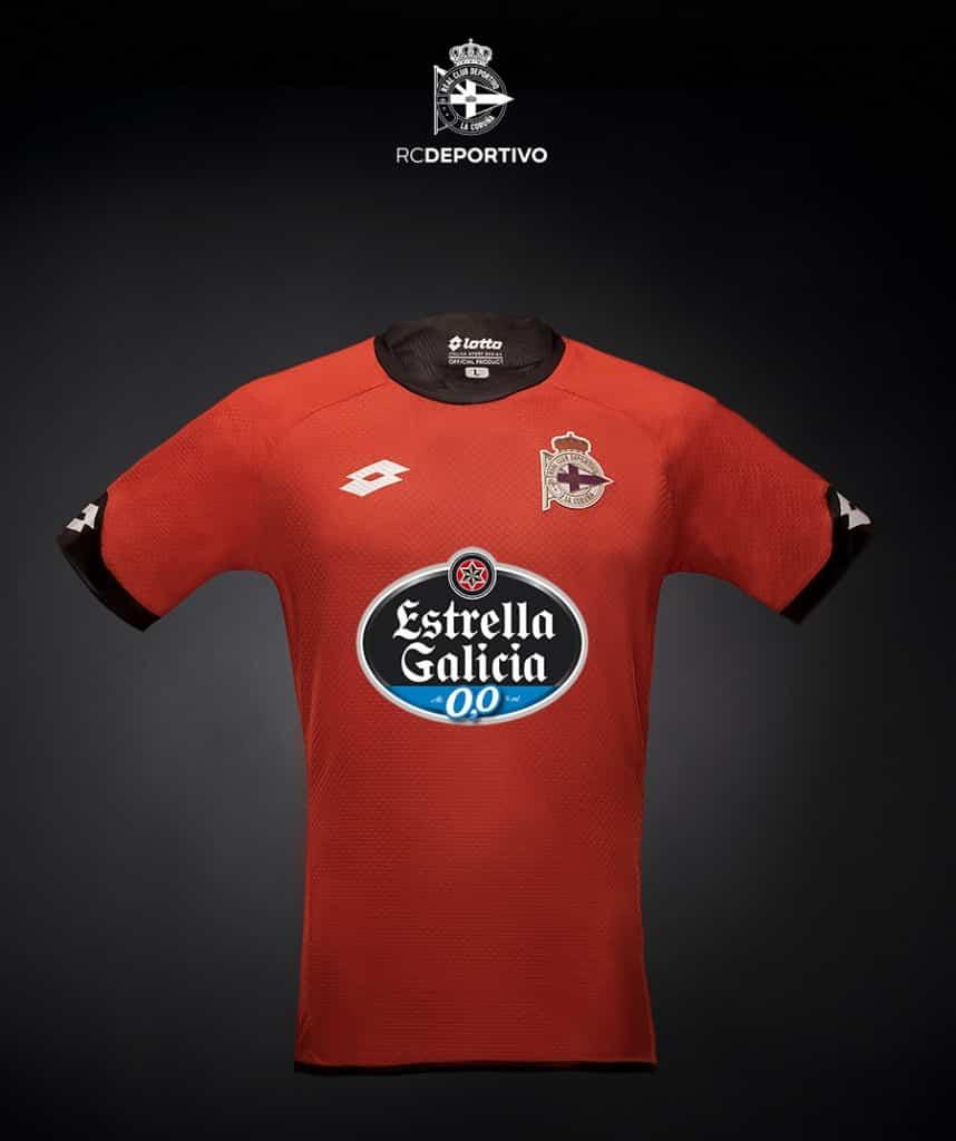 Maillot Deportivo La Corogne 2015-2016