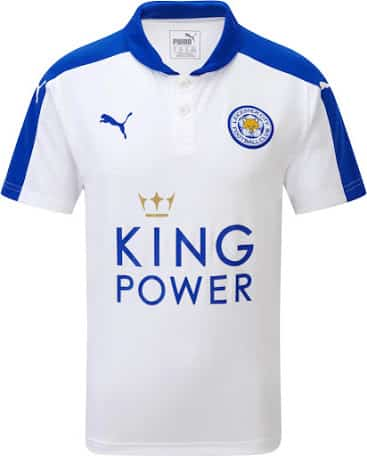 Maillot Leicester 2015-2016