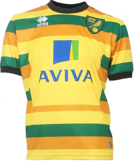 Maillot third Norwich City 2015-2016