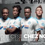 adidas dévoile les maillots 2015-2016 de l'Olympique de Marseille