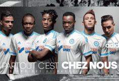 Image de l'article adidas dévoile les maillots 2015-2016 de l'Olympique de Marseille