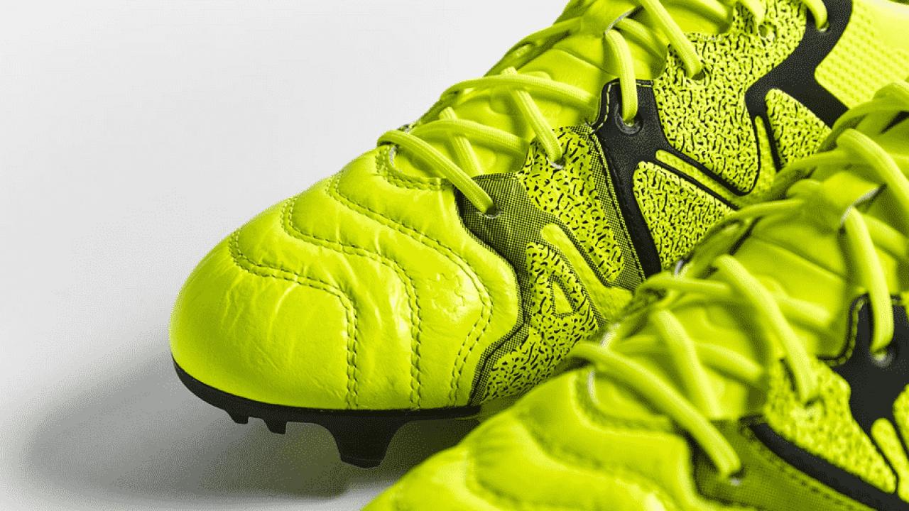 adidas lance la X15.1 leather (Cuir)