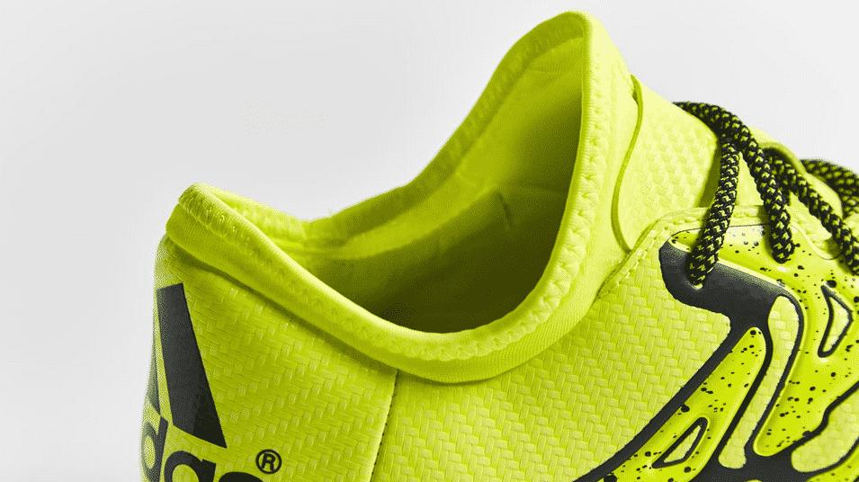 Après avoir lancé sa révolution avec #BeTheDifference, adidas lance la X15.2 Boost pour semer le chaos sur les terrains de football en salle ou de rue