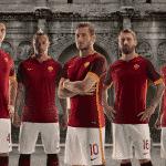 Nike présente les maillots 2015-2016 de l'AS Rome