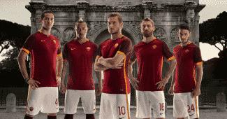 Image de l'article Nike présente les maillots 2015-2016 de l'AS Rome
