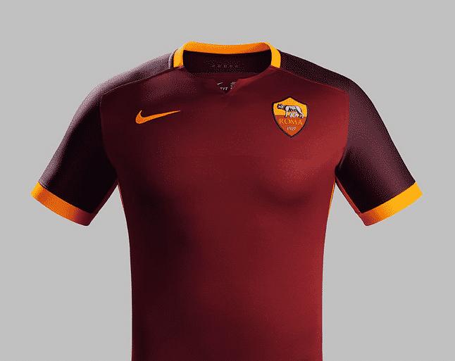 2ème de Serie A cette saison, l'AS Rome et Nike son équipementier viennent de dévoiler le nouveau maillot domicile 2015-2016 du club.