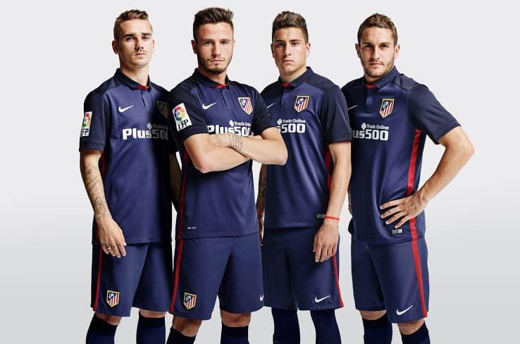 3ème du dernier championnat d'Espagne, l'Atlético Madrid d'Antoine Griezmann vient de dévoiler avec Nike ses nouveaux maillots pour 2015-2016.
