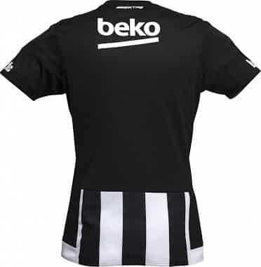 3ème de la Süper Lig Turque, le Besiktas vient de dévoiler ses nouveaux maillots domicile, extérieur et third signés adidas pour la saison 2015-2016