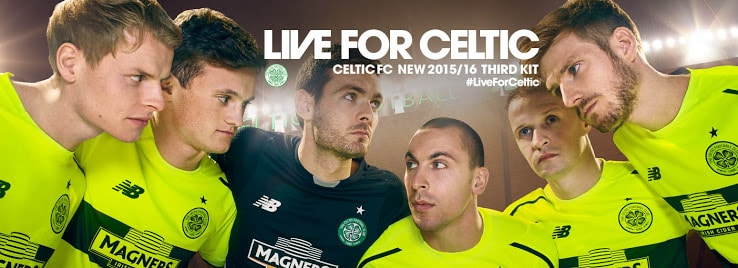 Maillot Celtic third BumbleBee 2015-2016