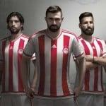 adidas présente les maillots 2015-2016 de l'Olympiakos