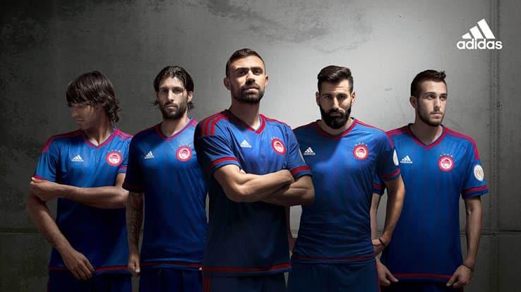 Maillot extérieur Olympiakos 2015-2016