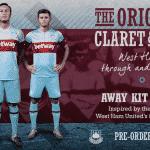 Umbro dévoile les maillots 2015-2016 de West Ham United