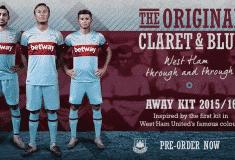 Image de l'article Umbro dévoile les maillots 2015-2016 de West Ham United