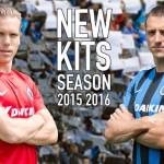 Les maillots 2015-2016 du FC Bruges